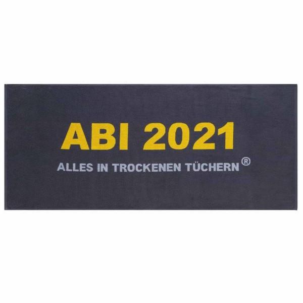"""ABI 2021 - Strandtuch """"Alles in trockenen Tüchern"""""""