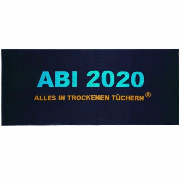 """ABI 2020 - Strandtuch """"Alles in trockenen Tüchern"""""""